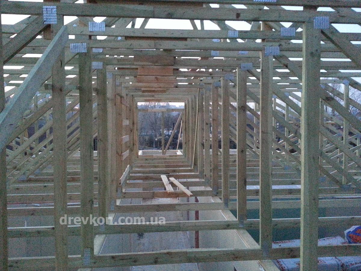 stropila s nadpisyu 1200h900 Деревянные фермы, фермы перекрытия, стеновые панели