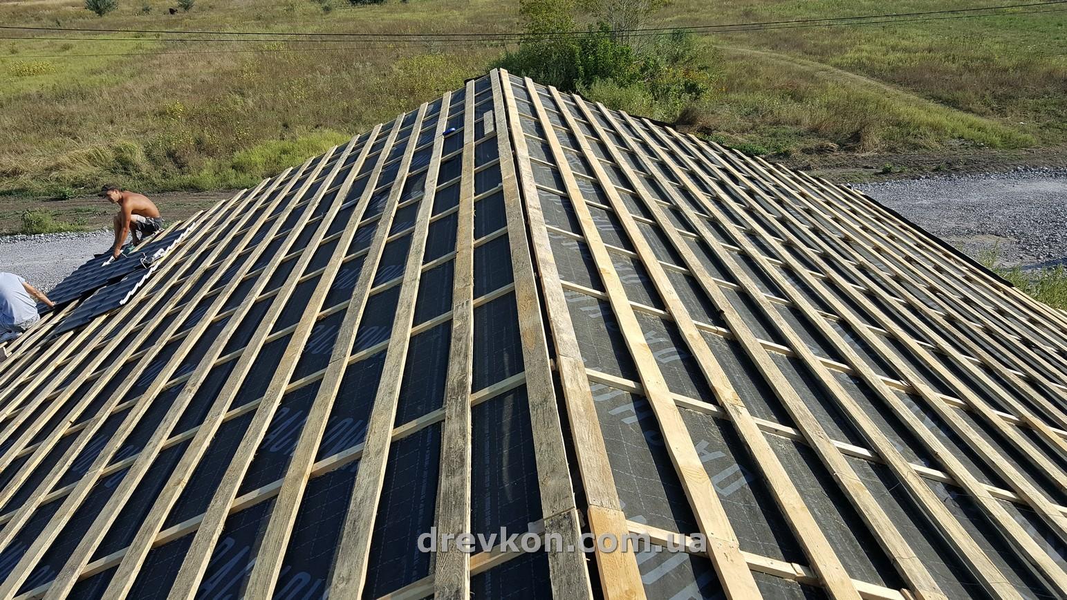 Перекрыть крышу на даче своими руками 67