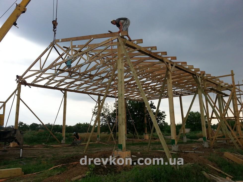 Naves dlya sena00005 Деревянные фермы, фермы перекрытия, стеновые панели